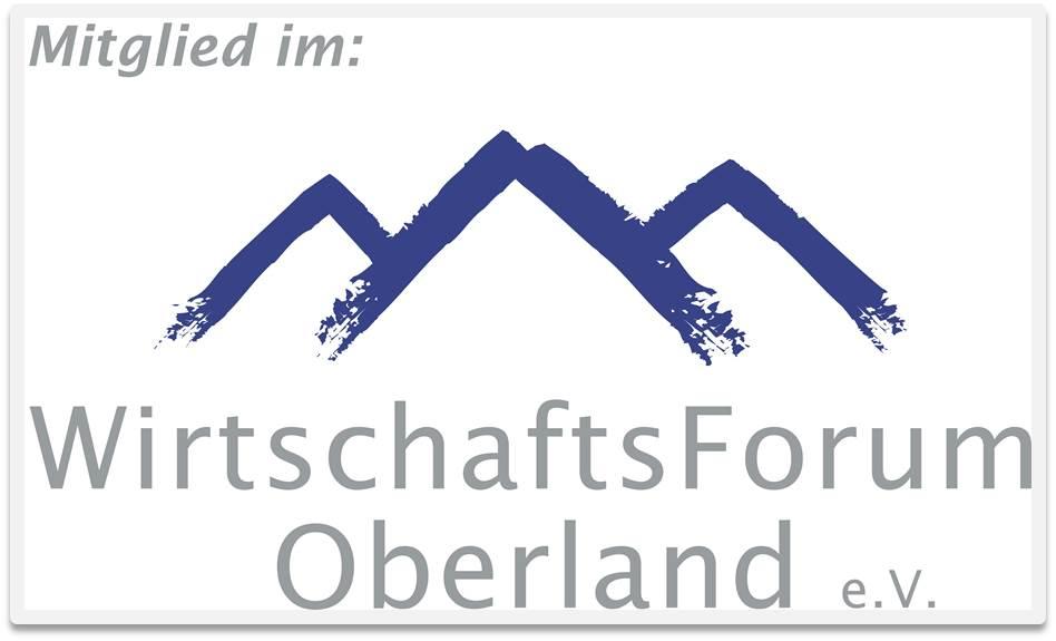Mitglied im WirtschaftsForum Oberland