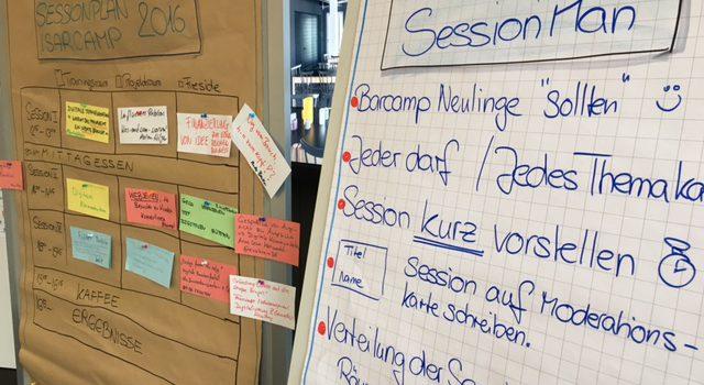 Barcamp mal von der anderen Seite betrachtet #isarcamp