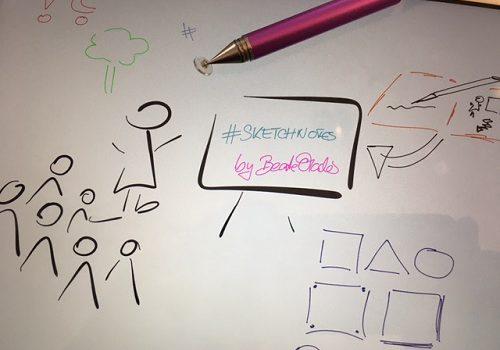 Punkt, Punkt, Komma Strich… #sketchnotes leicht lernen 1