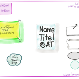 Punkt, Punkt, Komma, Strich…. #sketchnotes Tutorial Teil 2