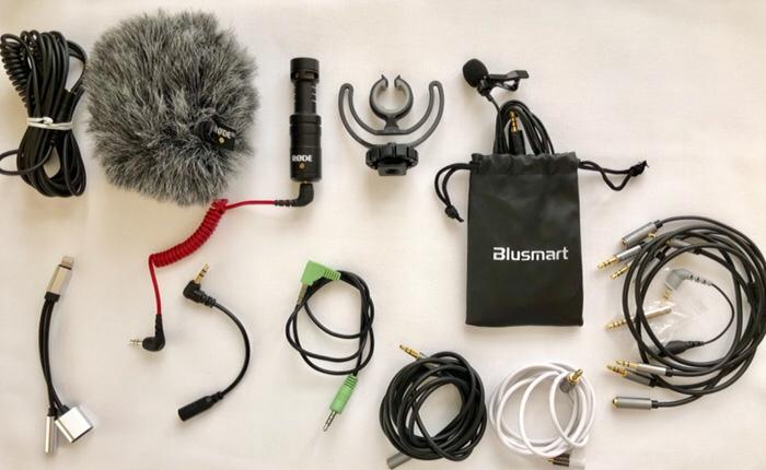 Inhalt der Audio-Tasche by Beate Mader