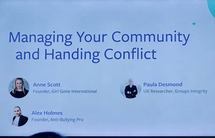 Facebook Communities Summit Europe (c) Beate Mader