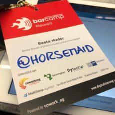 … und wieder Barcampzeit … #digicamp19 in Augsburg