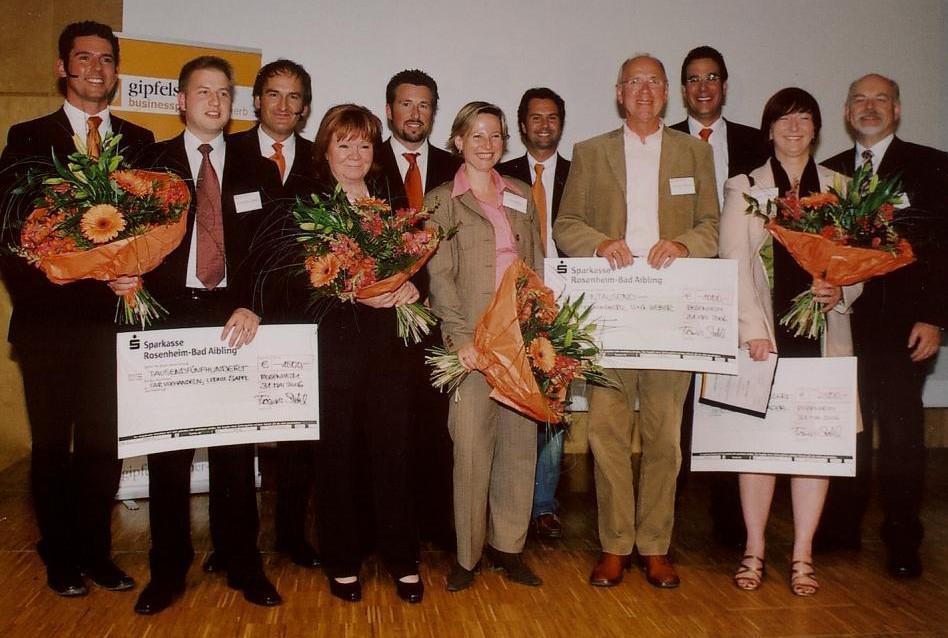 Gipfelstürmer Business Plan Wettbewerb 2006 - Die Sieger