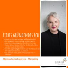 Martina Fuchs: Tipps an mein gründendes Ich