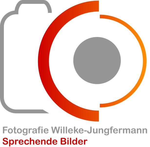 Logo Fotografie Willeke-Jungfermann. Sprechende Bilder