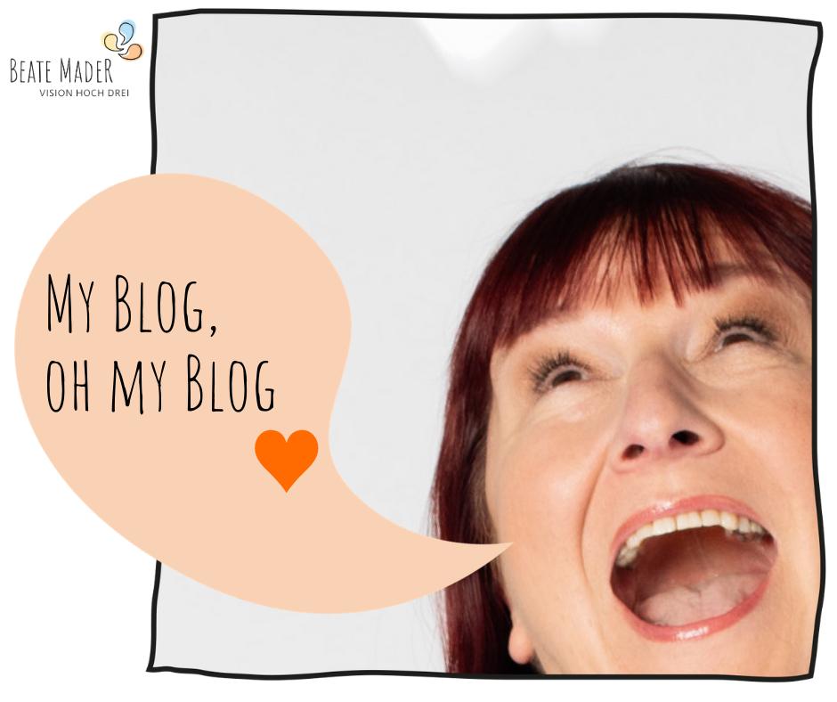 My Blog, oh my Blog - Blogparade #liveloveblog