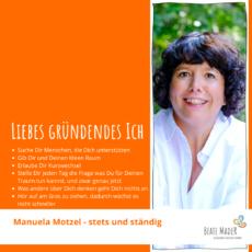 Manuela Motzel - Tipps an mein gründendes Ich