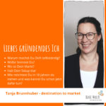 Tanja Brunnhuber Tipps an mein gründendes Ich