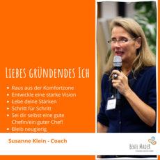 Susanne Klein - Tipps an mein gründendes Ich