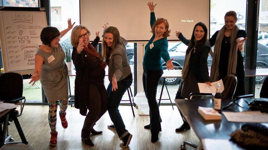 Die #DMW Gründerinnen. Foto Sandra Schink