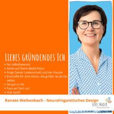 renate Welkenbach: Tipps an mein gründendes Ich
