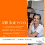Christine Berliner - Tipps an mein gründendes Ich