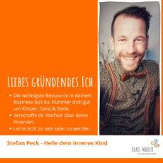 Stefan Peck: Tipps an mein gründendes Ich
